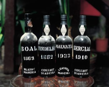 The four vintage Madeira varieties. Image courtesy of www.madeira-web.com.