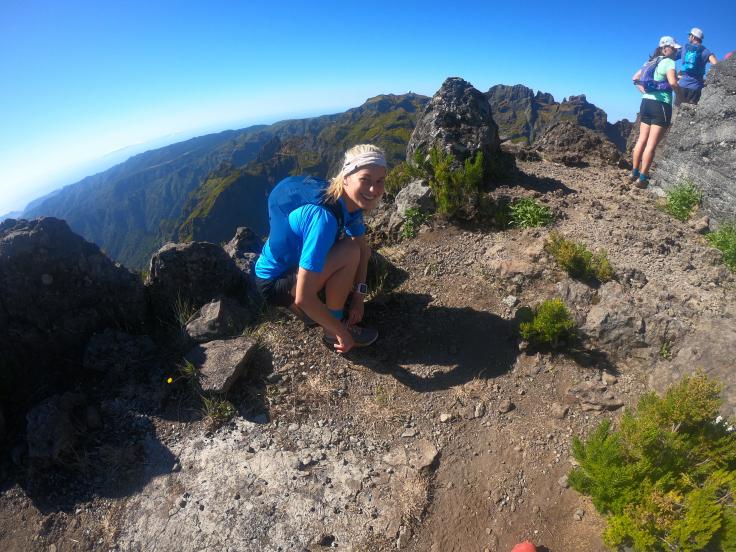 Marisha on the top of Teixeira