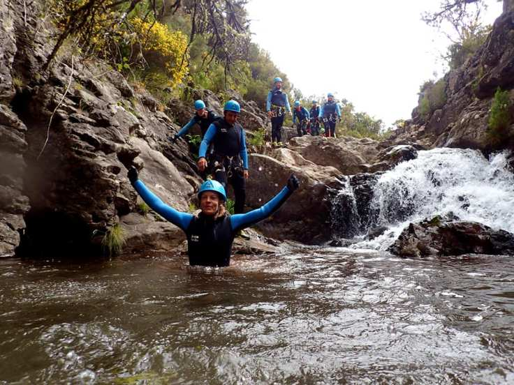 Canyoning through the exotic rivers