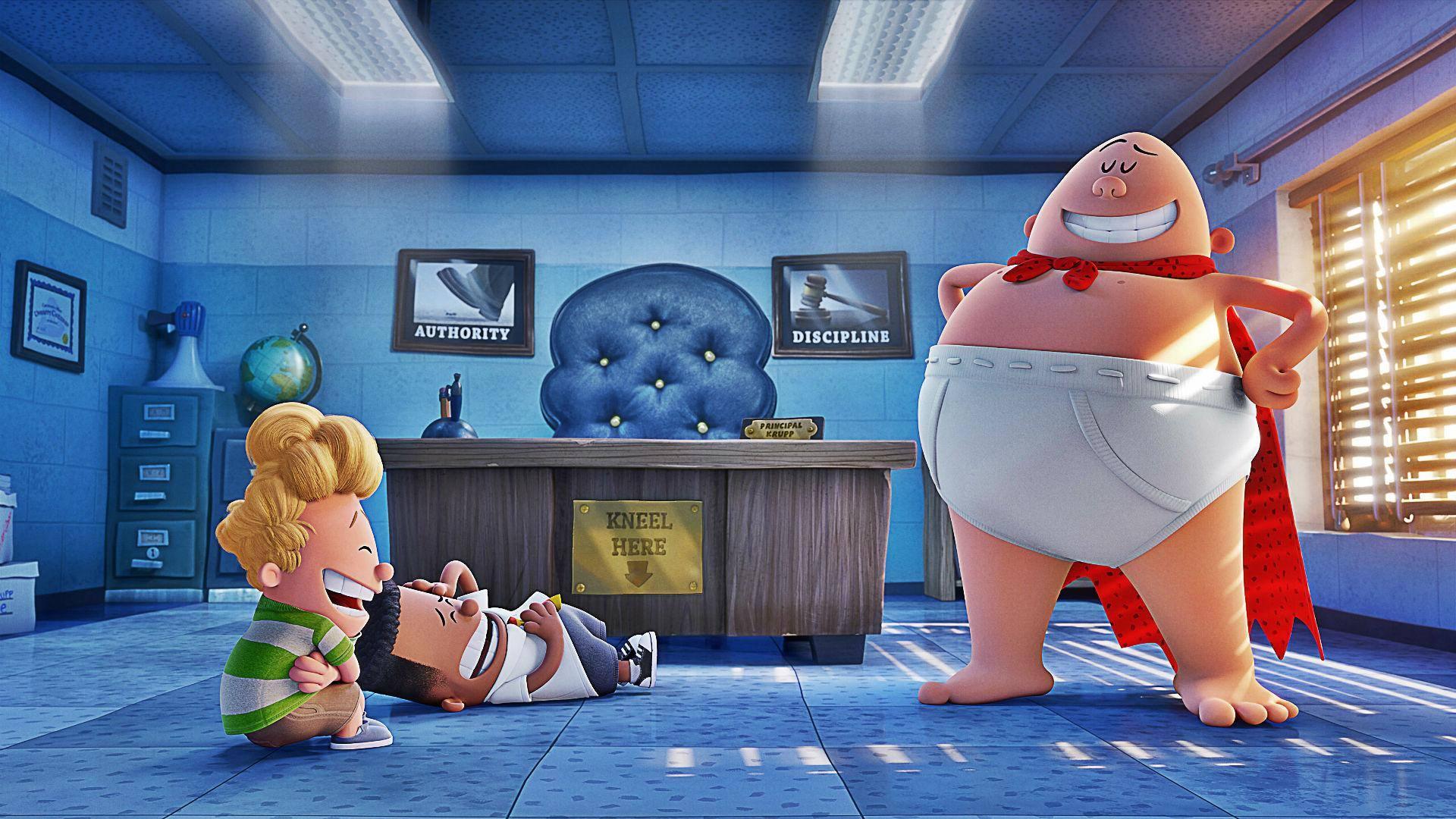 Movie Night - Captain Underpants - Friday, November 10