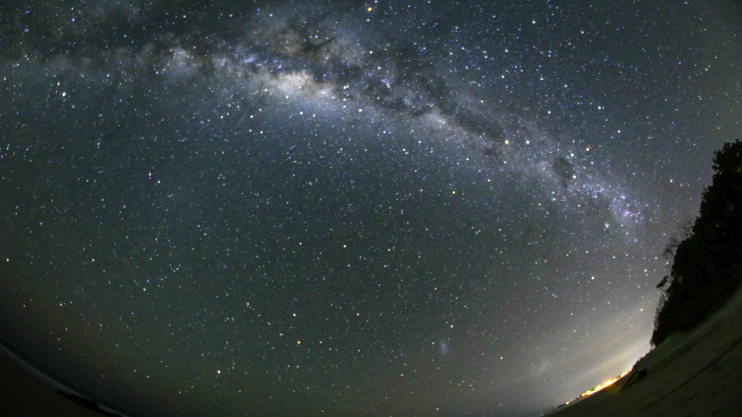 Milky Way over Byron Bay