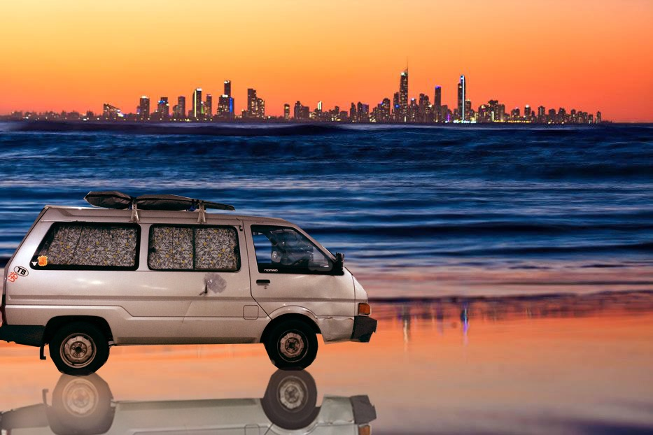 Gold Coast, Australia, Van Life, Surf