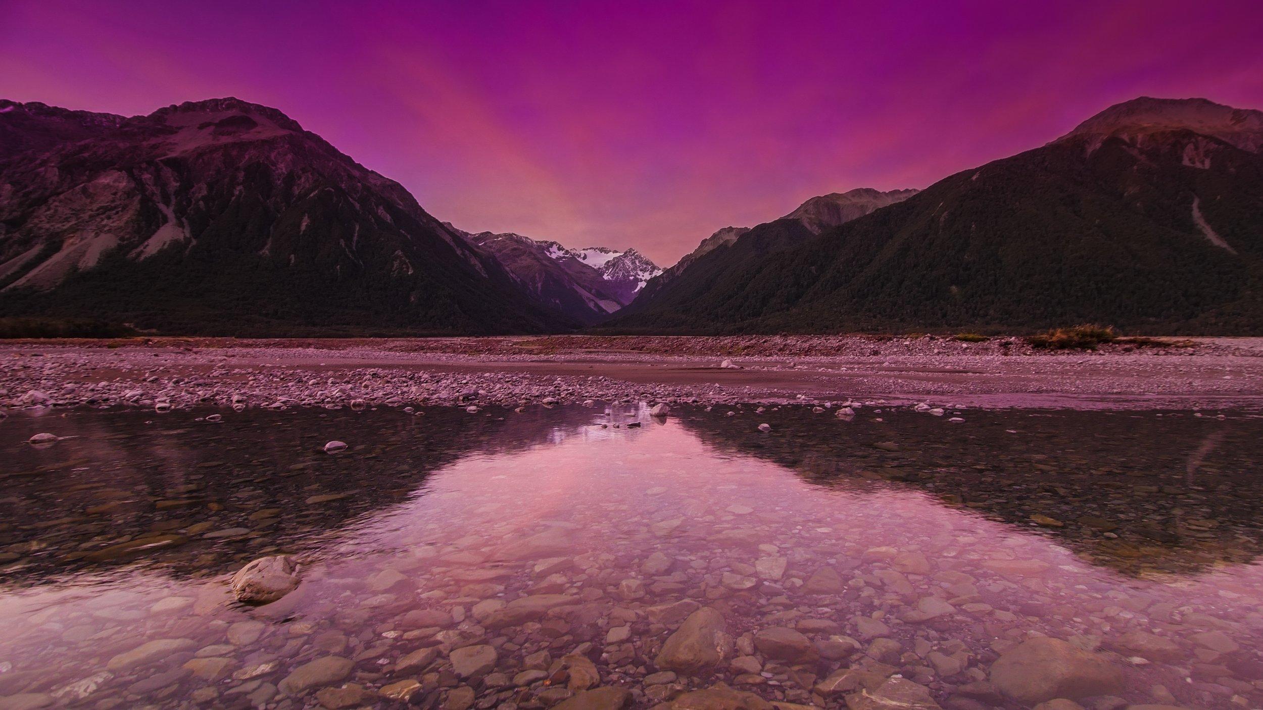 Arthurs Pass Mount Rolleston Avalanche peak devils puchbowl