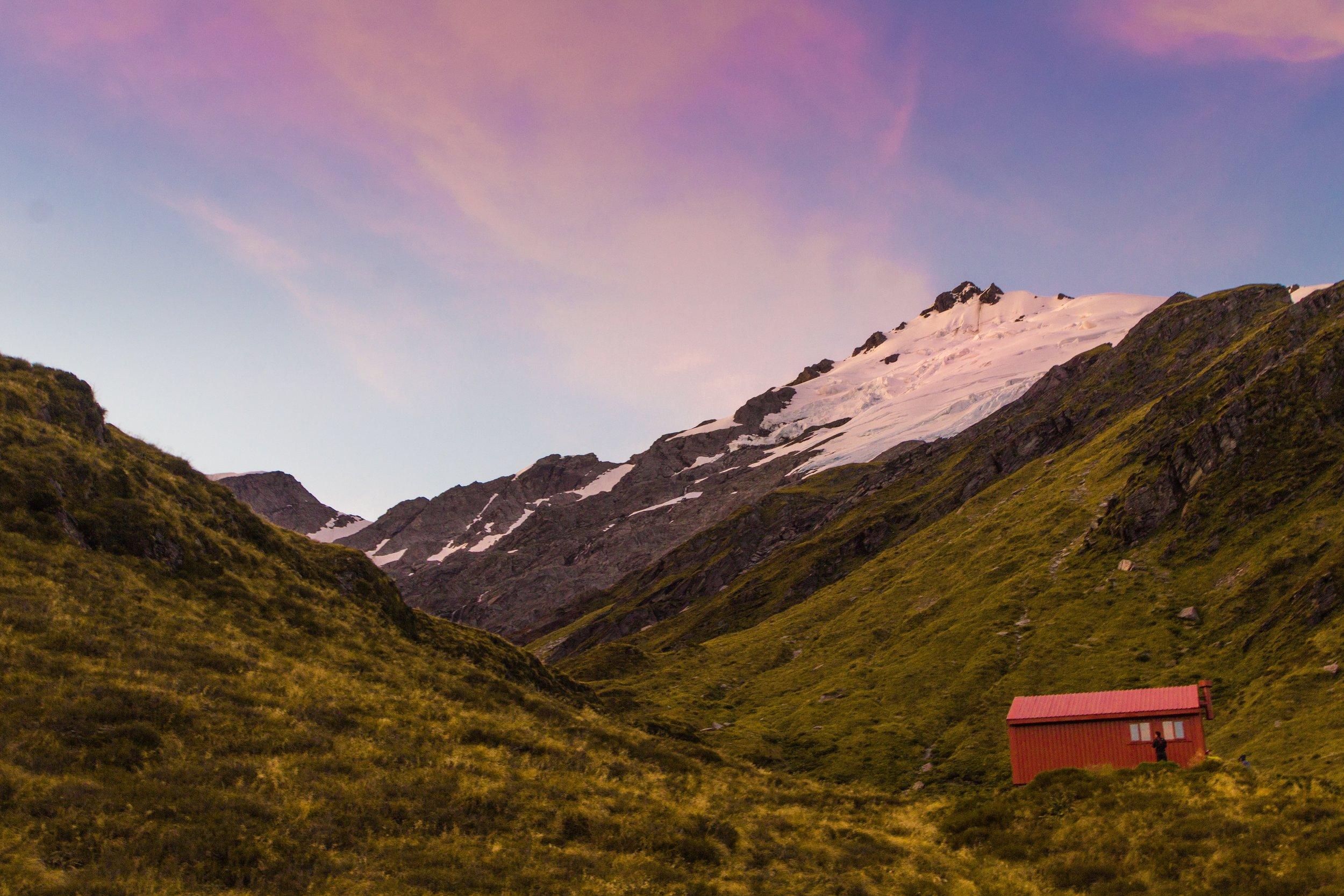 Liverpool Hut, New Zealand, Mt Aspiring National Park