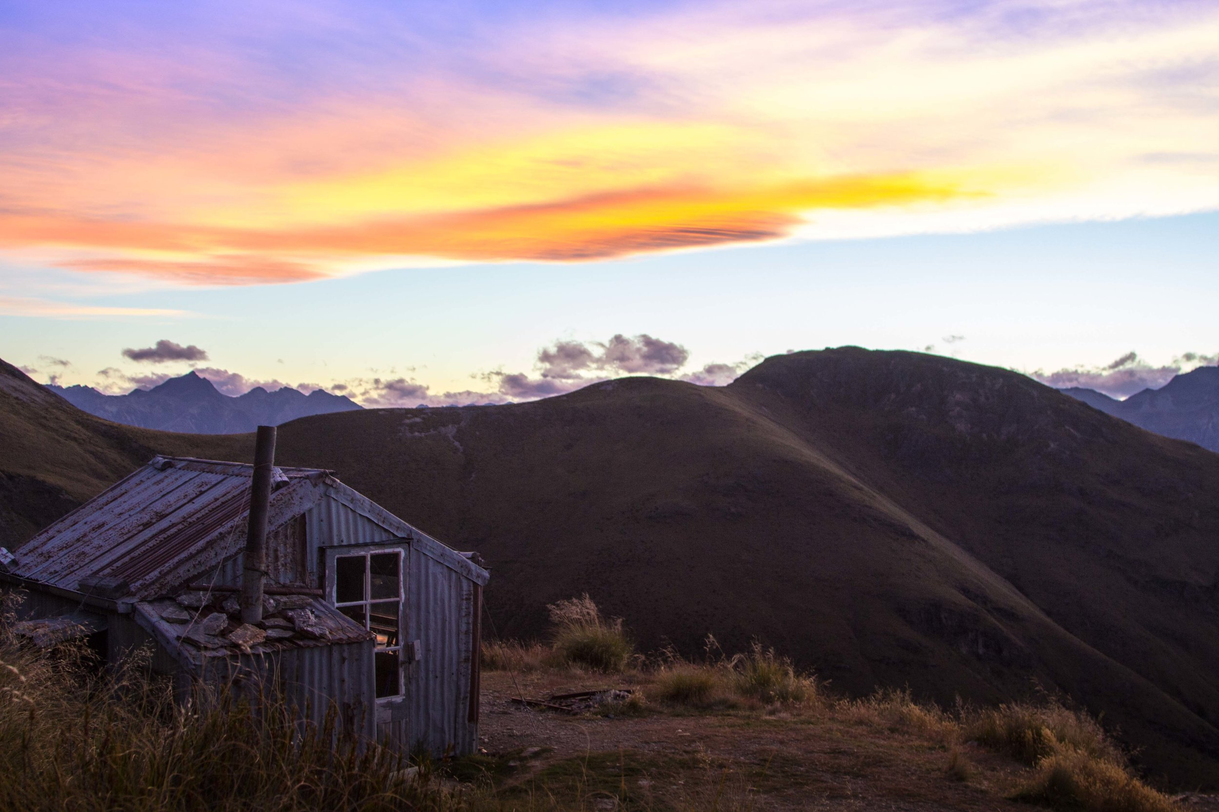 Heather Jock Hut, Mount Judah, Glenorchy, New Zealand, Free Huts
