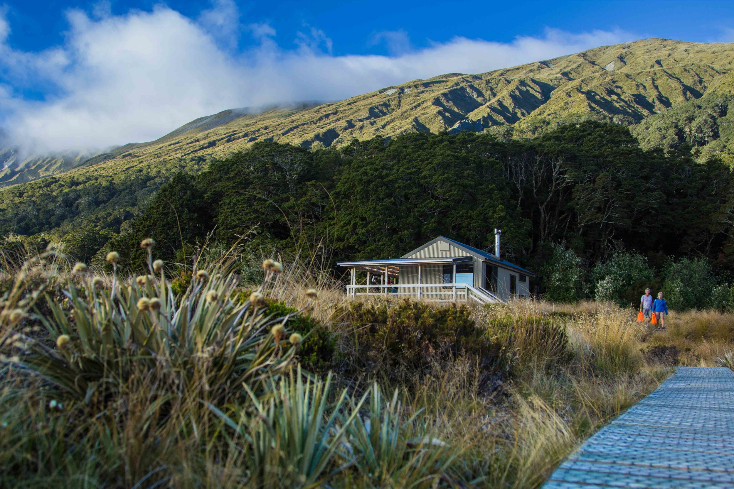 Green Lake Hut Lake Monowai Fiordland National PArk New Zealand