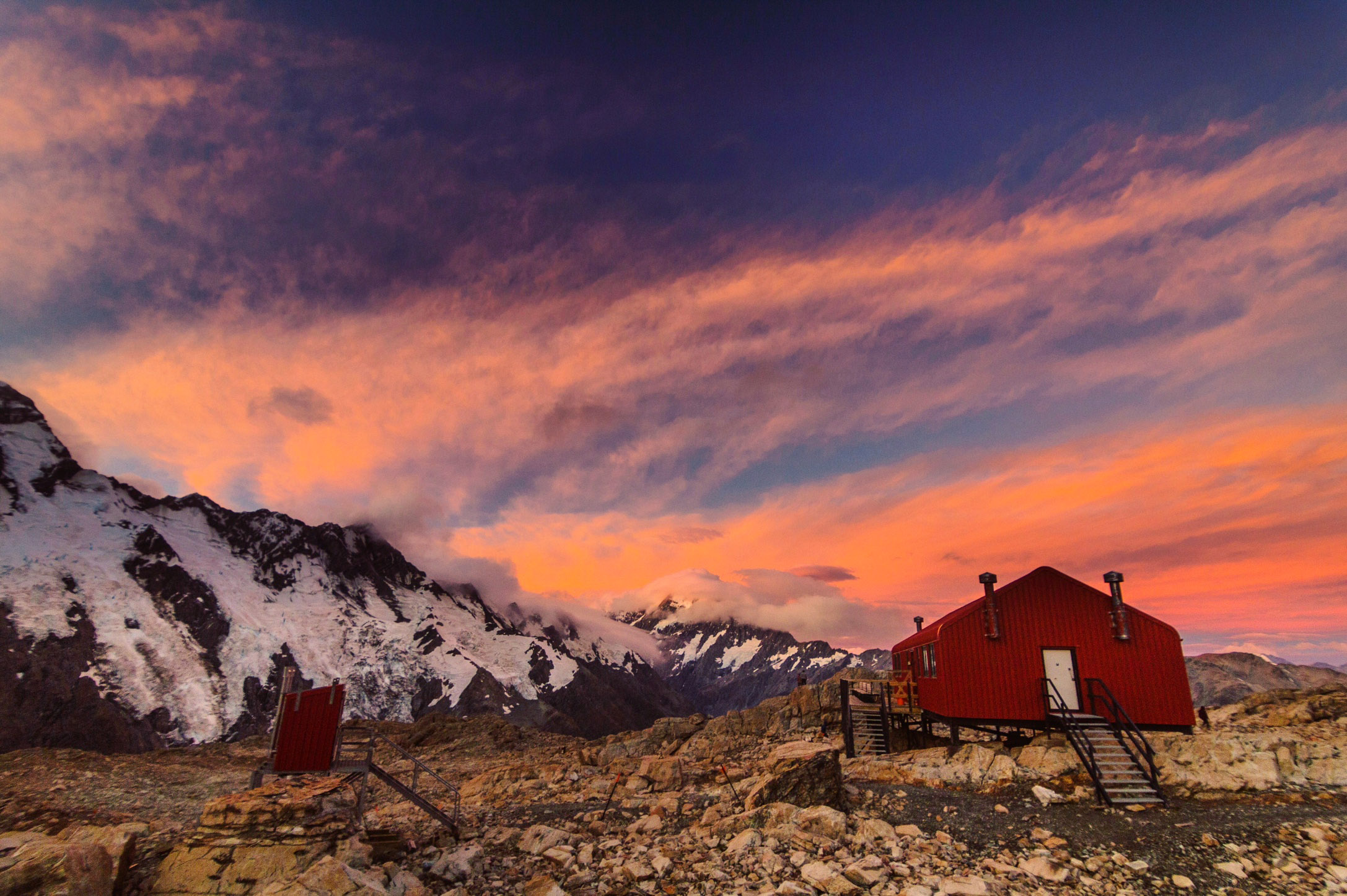 Mt Cook Hooker Valley Track, Mueller Hut, Mount Cook New Zealand (15 of 15).jpg