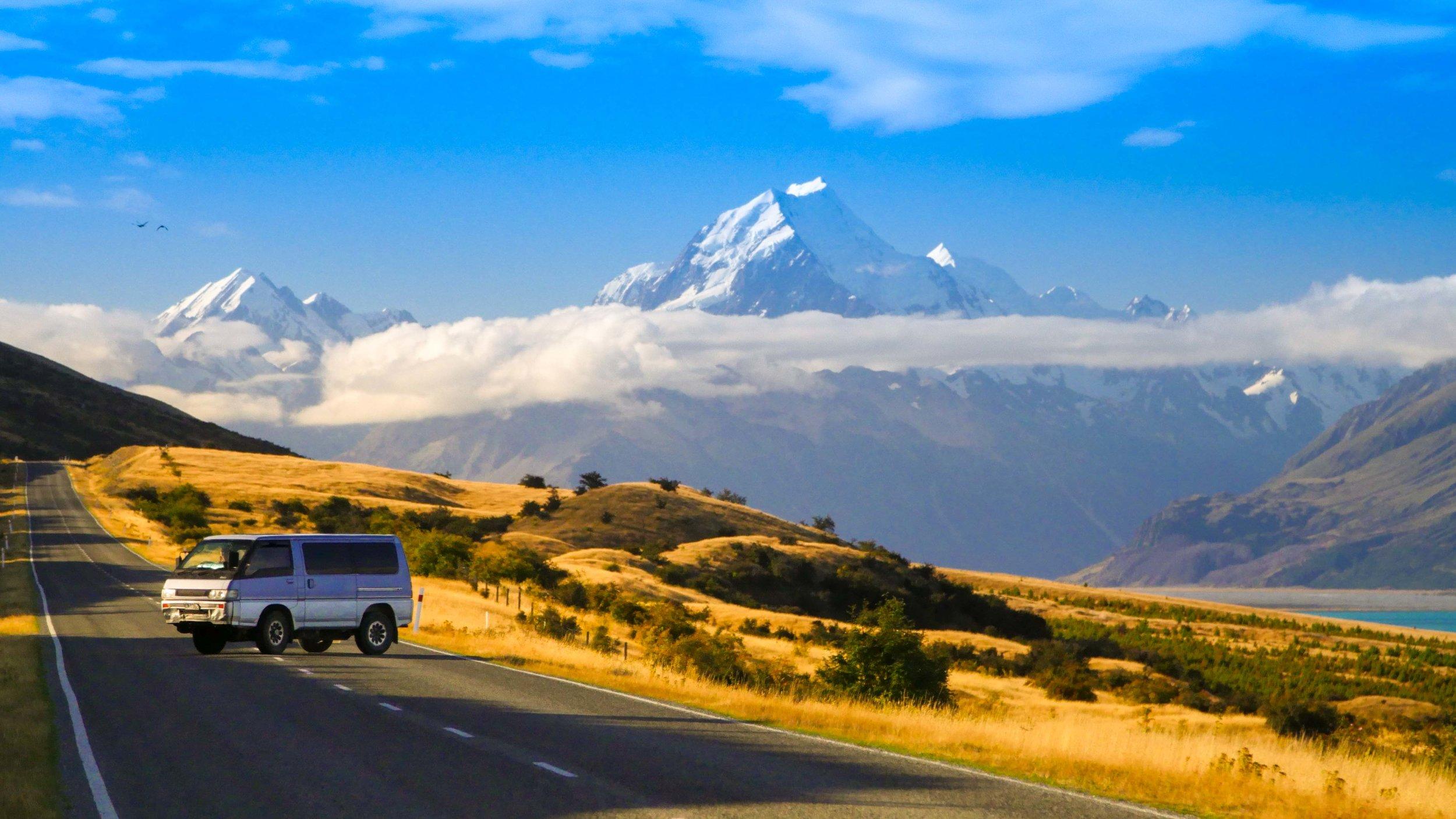 Mount Cook New Zealand Van Life