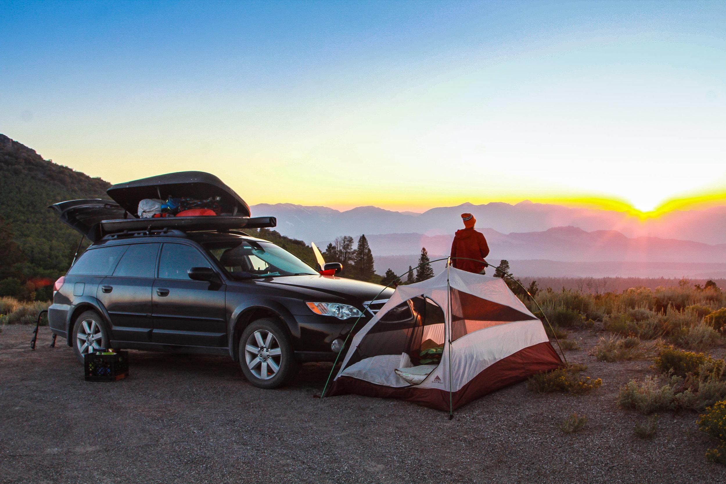 Subaru Outback Camper