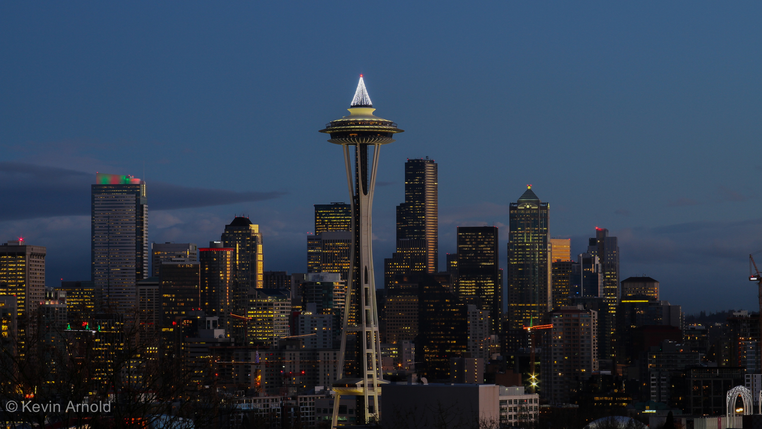 Space Needle and Seattle from Kerry Park