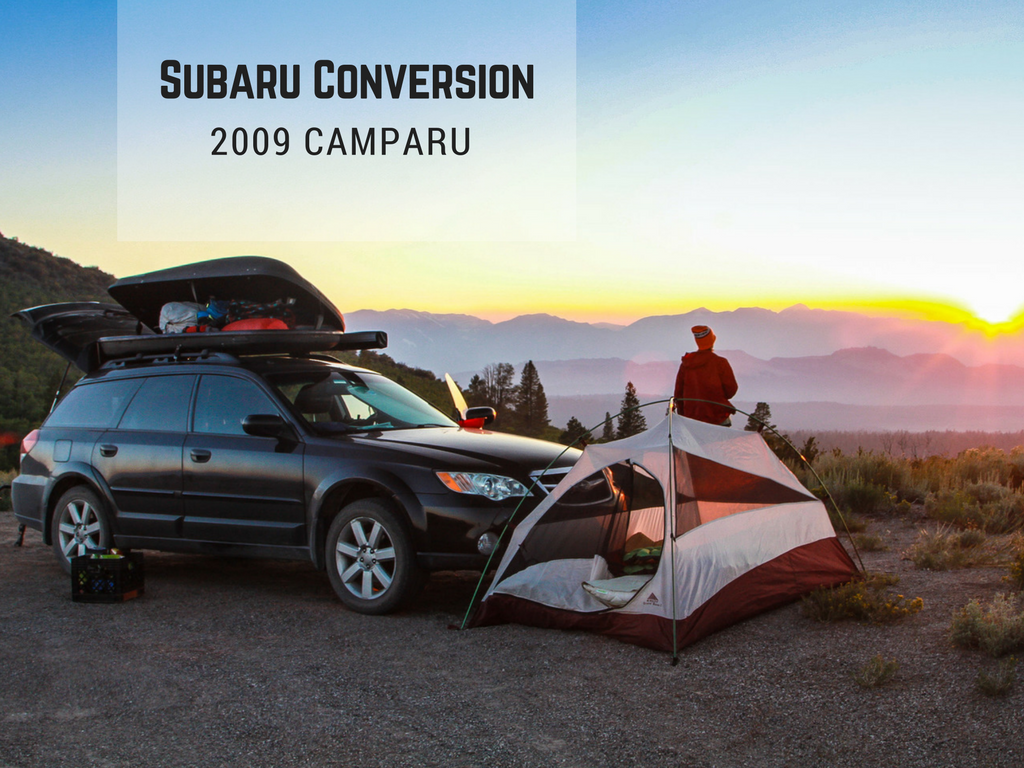Subaru Life - When we returned to the states, we still had feet that would not settle. So being that we have a 2009 Subaru Outback, we built it out to travel and live in until we were finished with our Sprinter Build out. Here, we show how we easily added a removable sleeping platform, as well as, some other accessories to make life on the road more comfortable. As always, budget friendly.