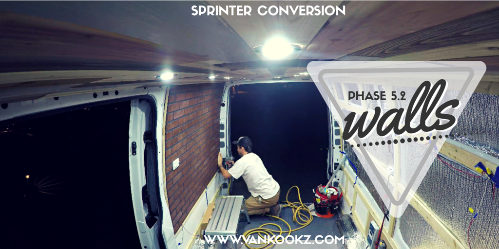 Easiest Wall Insulation Ever in a Van? - Phase 5.2 - Here, we know that we did this differently from most all sprinters out there. Here we show how we pulled off our wall installation.