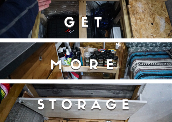 Easy Ways to Add Storage into Your Van build - Phase 7.2 - Storage Ottoman, seat, laundry bin, step up... this little guy is all those things. Here, we share some ideas on how we used every
