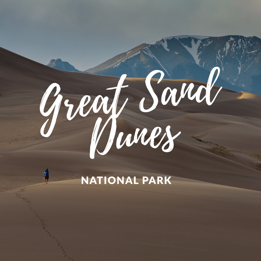 Great Sand Dunes - If you are in Southern Coloradical, make a stop here. These sand dunes are the tallest sand dunes in North America, at 750 feet high. Making it to the summit of the dunes is a feat. Check out what we have to say about it!