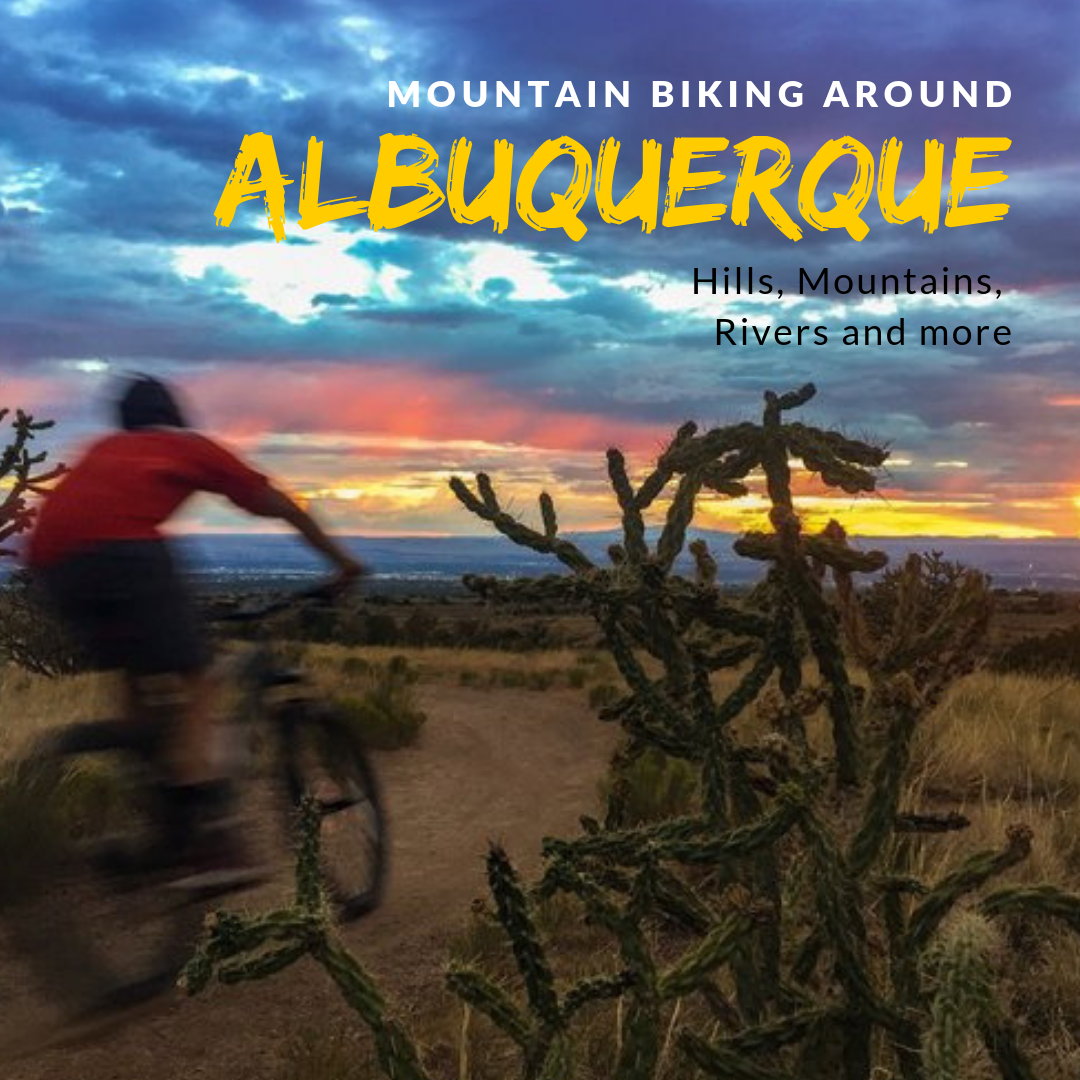 More than Breaking Bad - Albuquerque is well known for the show Breaking Bad, but we love it for it's empty flowy mountain biking terrain. We give the break down on some of our favorite places.