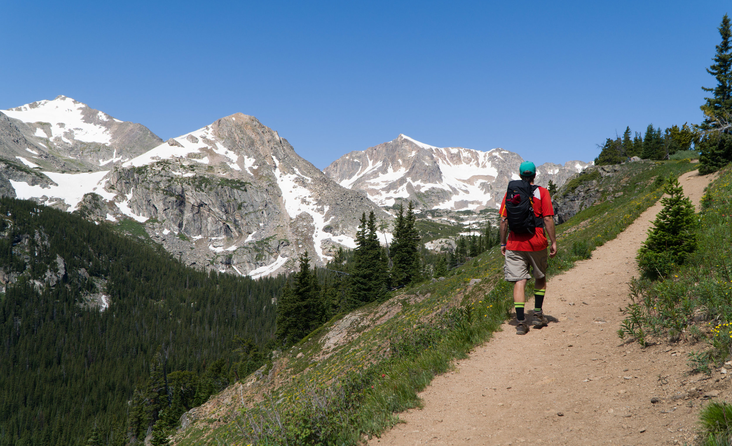Indian Peaks Wilderness Hikes Fourth of July