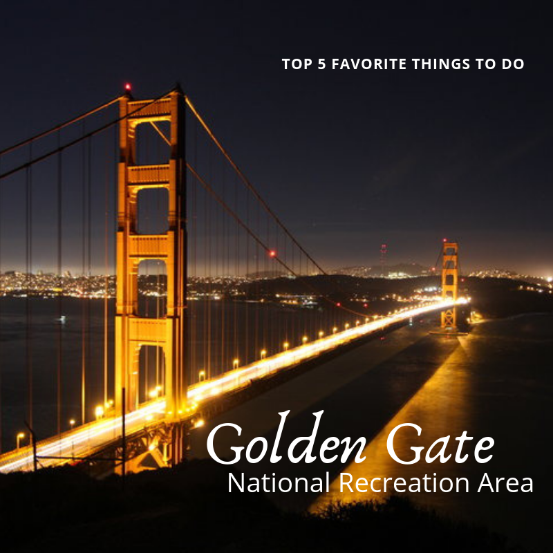 Top 5 Spots in Golden Gate NRA - From secluded beaches, amazing headlands, redwood forest, and the amazing views of San Francisco we can see why this is one of the most used public spaces in the country. Read on to find out our top 5.