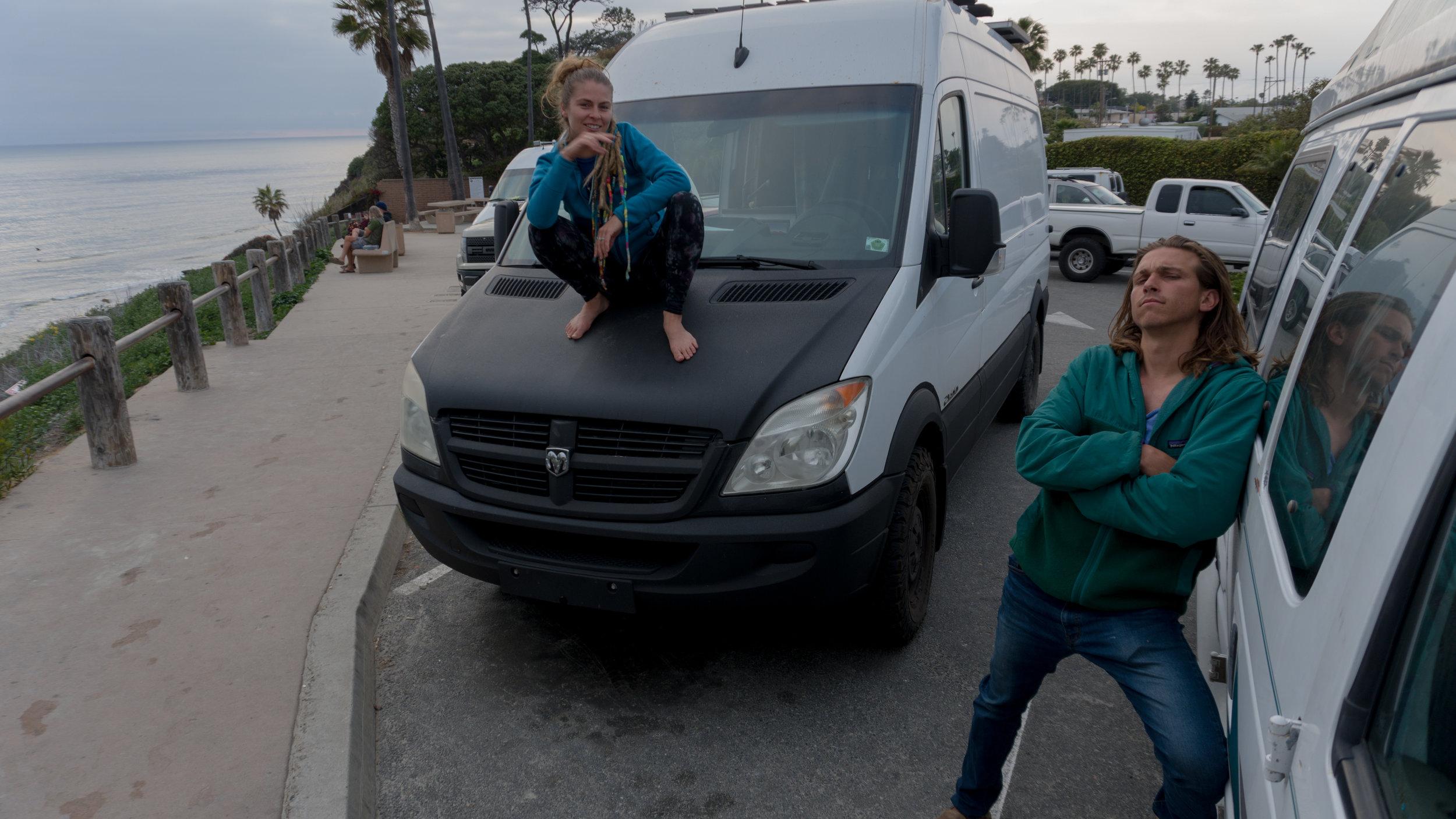 San Diego Car Camping Swamis