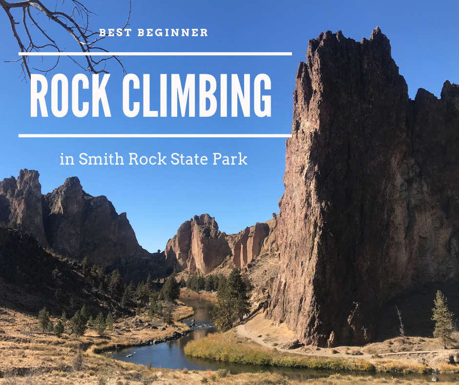 Oregon Climbing Mecca: Smith Rock State Park - If you are new to Rock Climbing like us, this place is amazing! There are anything to pretty easy climbs to multi-pitch difficult climbs in this park. Chalk lines climb up the rock face as you spot many climbers on their way to the top. Check out some of our favorite beginner friendly climbs!