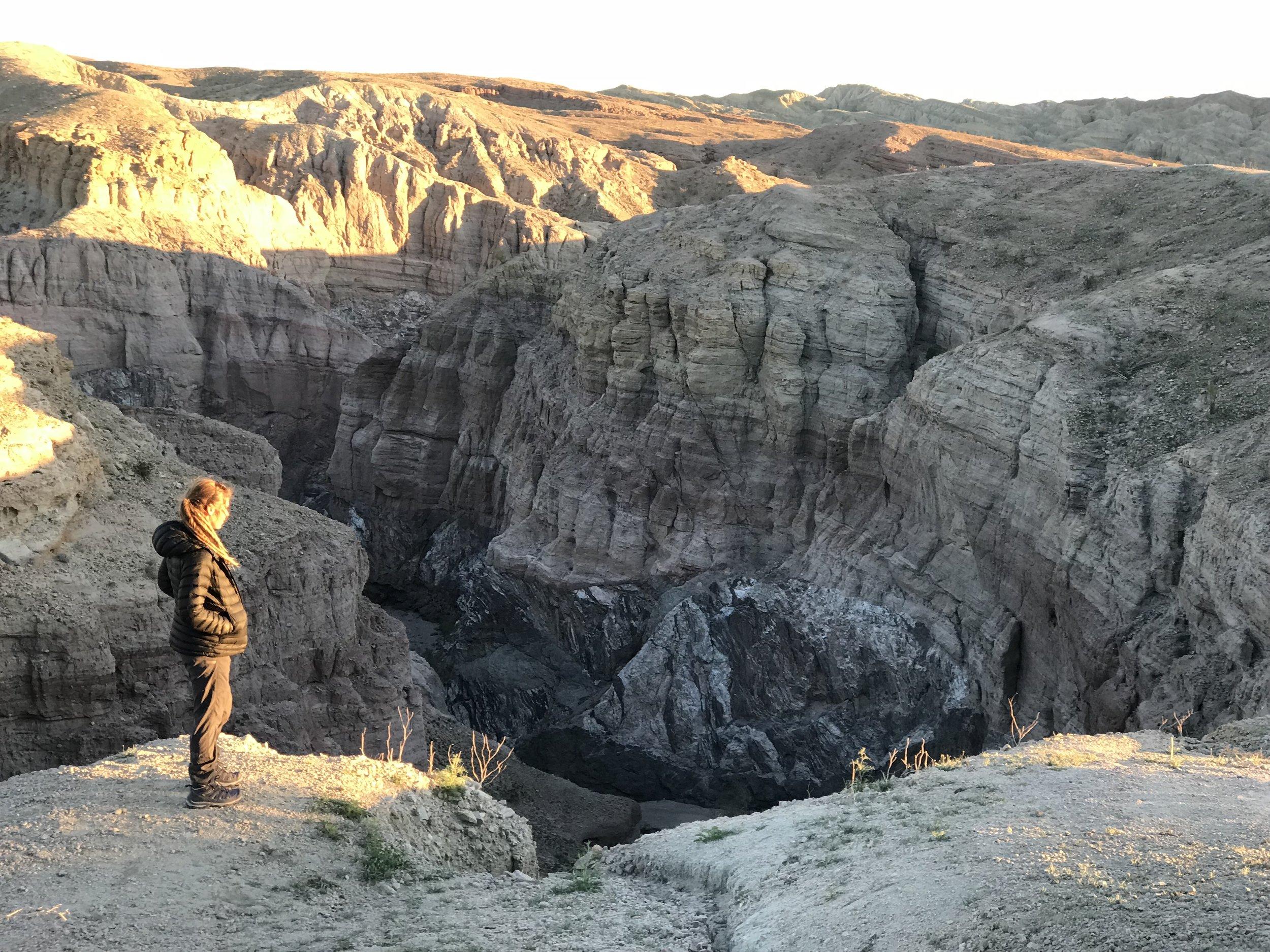 Ladder Canyon California SLot Canyon