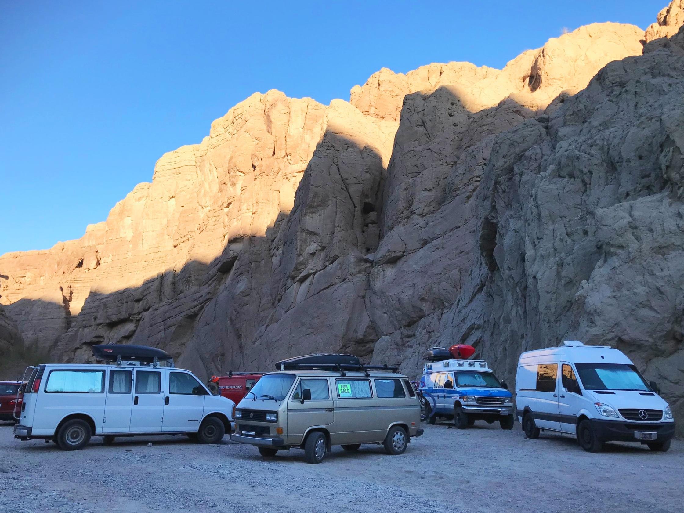 Ladder Canyon camping