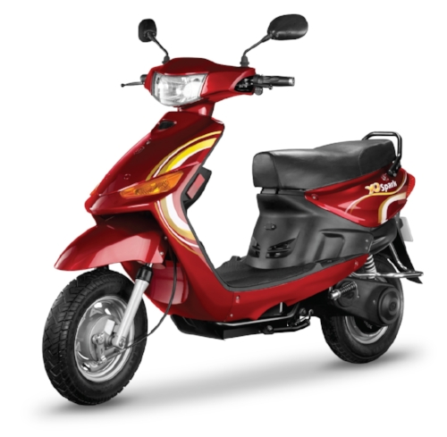 An example of an electric scooter