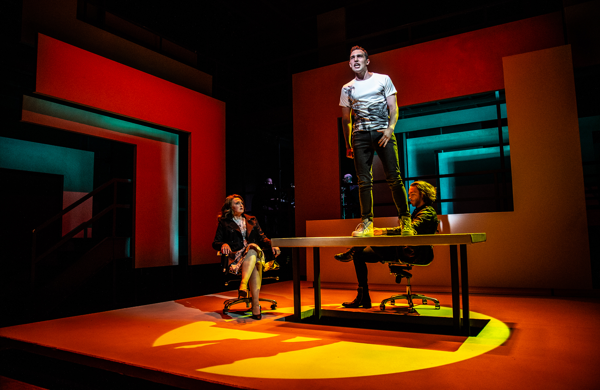 NEXT TO NORMAL @ Tantrum Theatre with Kelsey Venter, Riley McFarland, and Travis Kent (Photo Credit: Dan Winters)