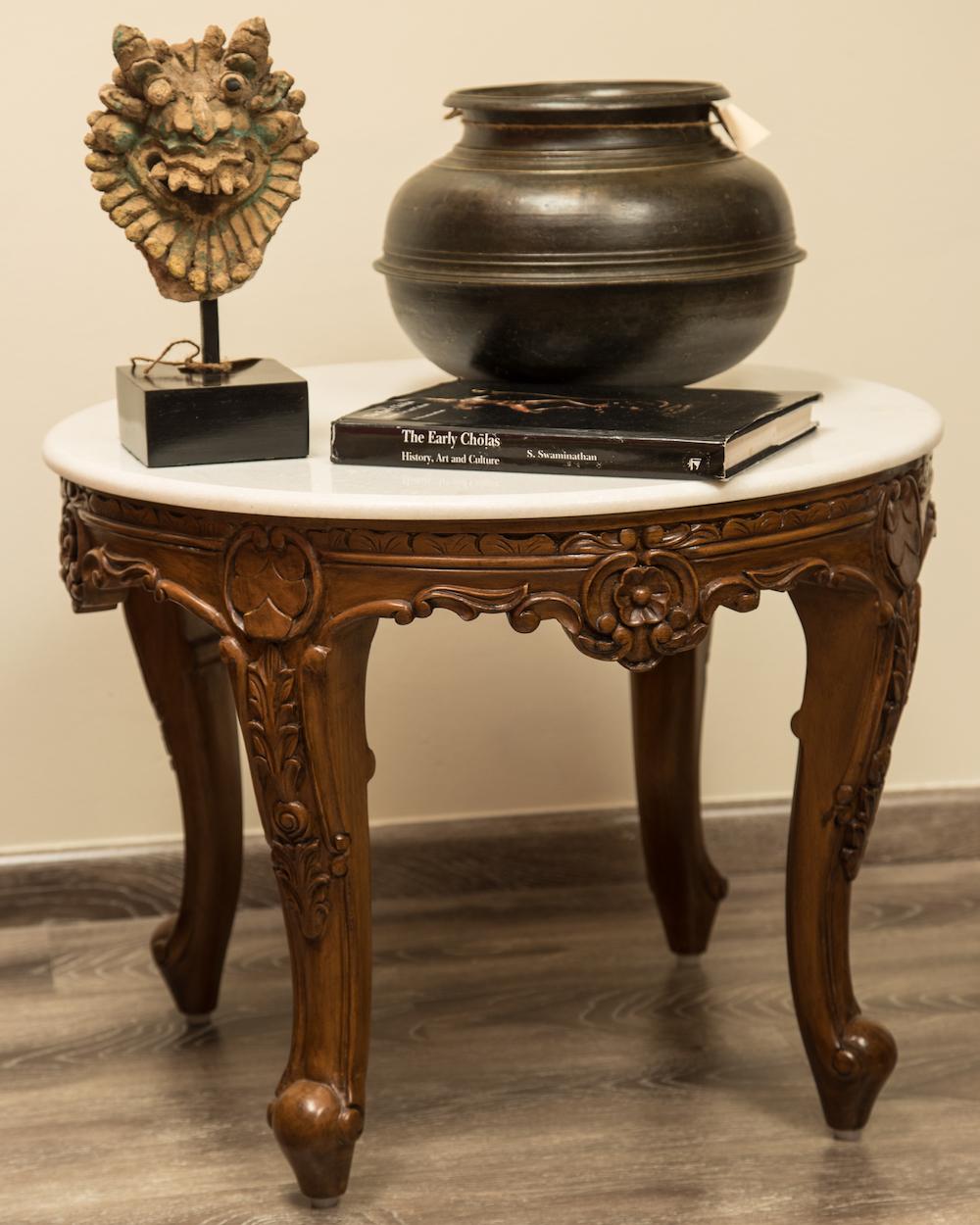 Georgian Marble Side Table.JPG