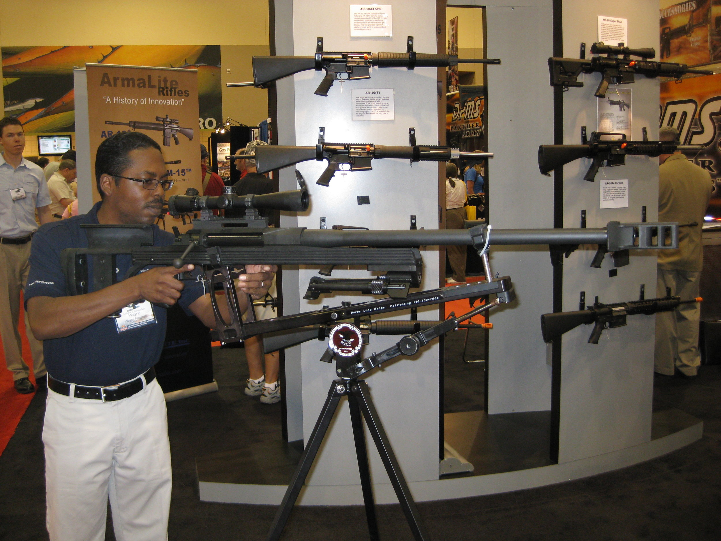 You won't find a display like this in the  Average Gun Shop