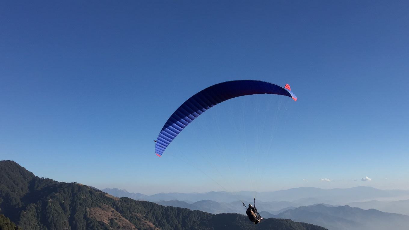 Paragliding with The Lodge at Wah