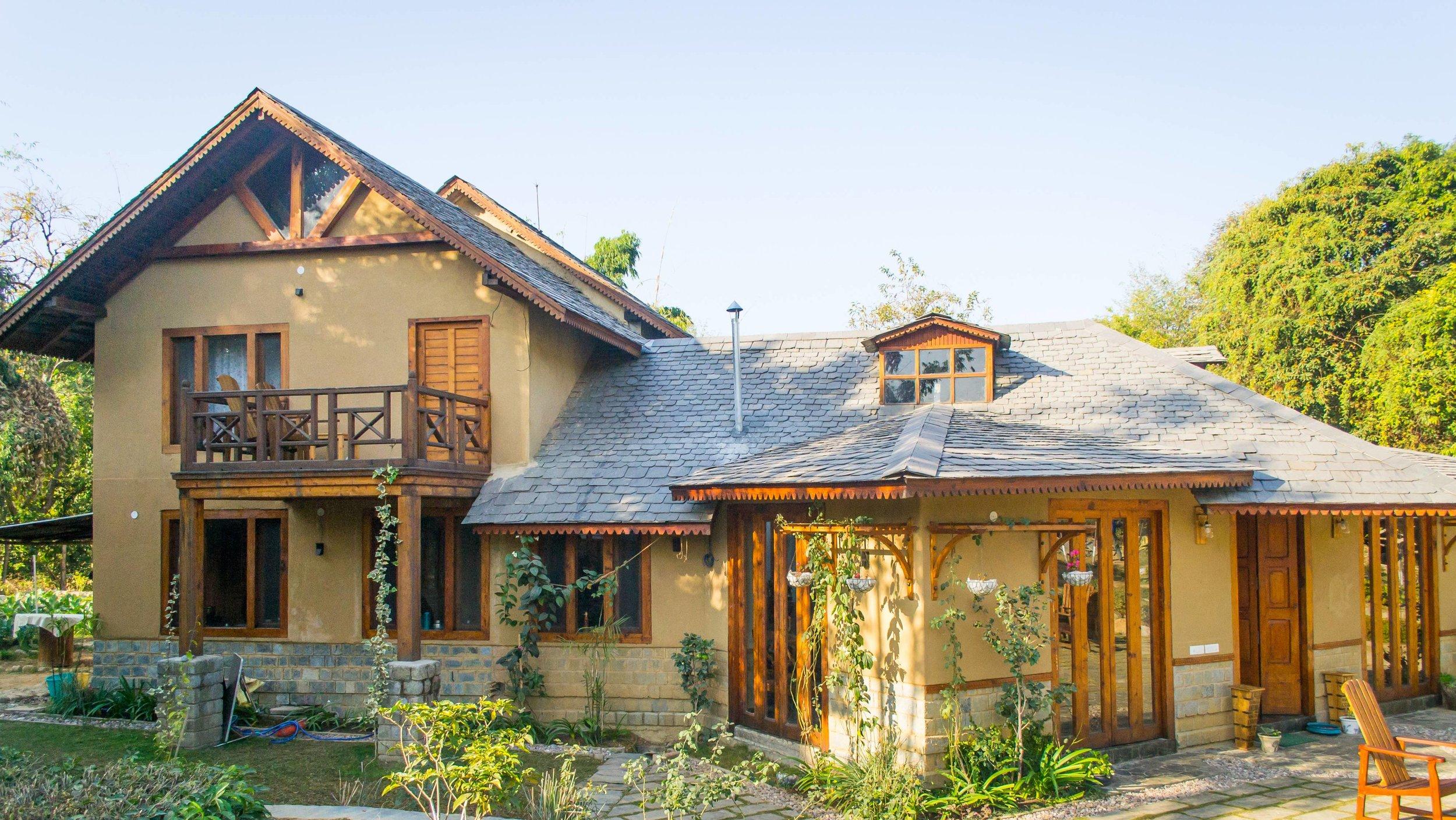 The main cottage at The Lodge at Wah