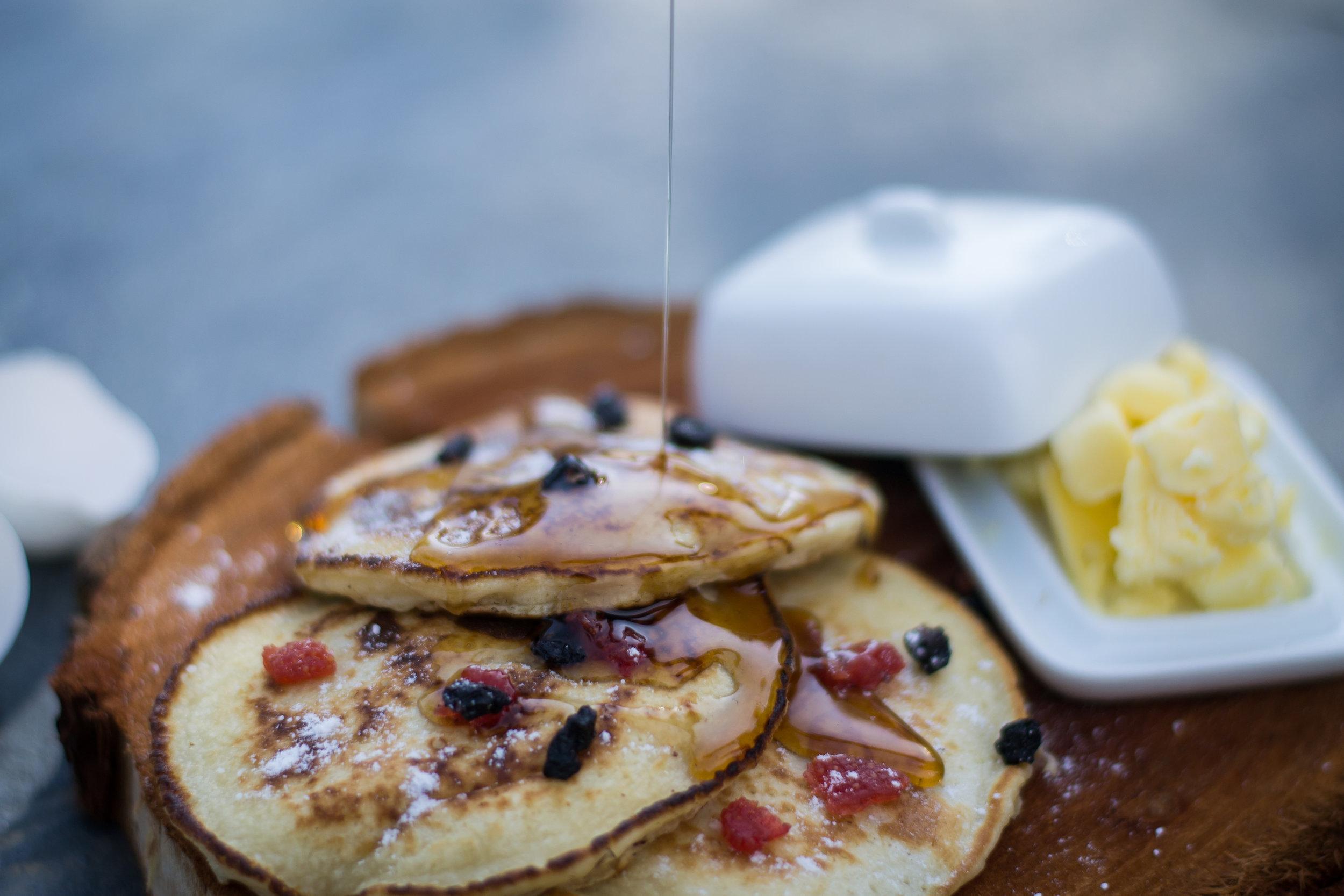 Pancake Breakfast at The Lodge at Wah