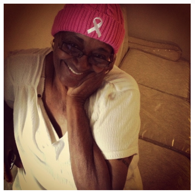 Christine. My grandmother. Breast cancer survivor. Royal Empress of Seneca.