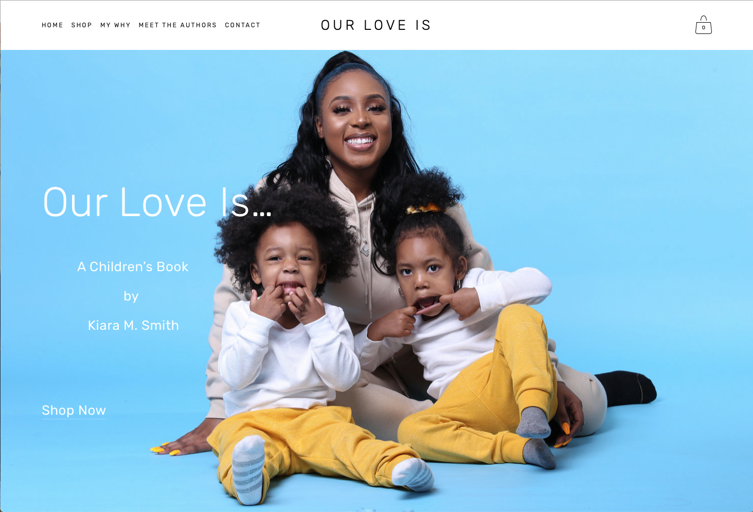 Our Love Is…   Website Design and Copywriting Services by Iman