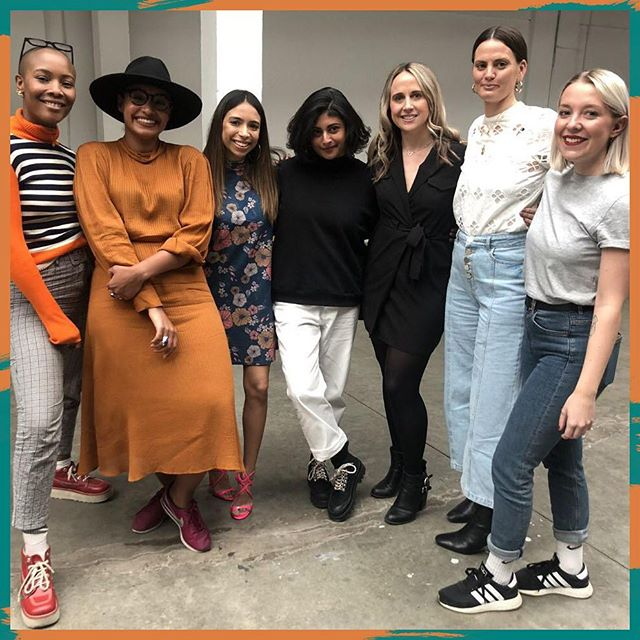 Super grateful for this opportunity to share a stage with these amazing women! Thank you to @voxburner and #yms19 for inviting me, @world_of_shanu for chairing the panel and @ellenrstewart from @pink_news, @cocktailsandavocados from @benefitcosmeticsuk, @sereenaabbassi from @mcsaatchilondon, @livslittle from @galdemzine, and Rebecca Doherty from @riverisland. I loved every second! 💕