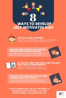 8 Ways To Develop Self-Motivated Kids
