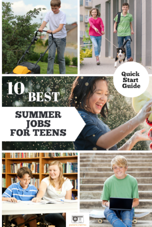 Summer Jobs for teens by Parent Remix