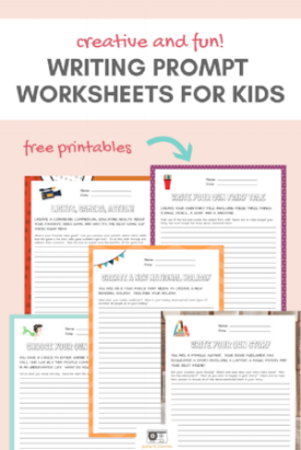 WRITING PROMPT WORKSHEETS FOR KIDS Pin COVER.png
