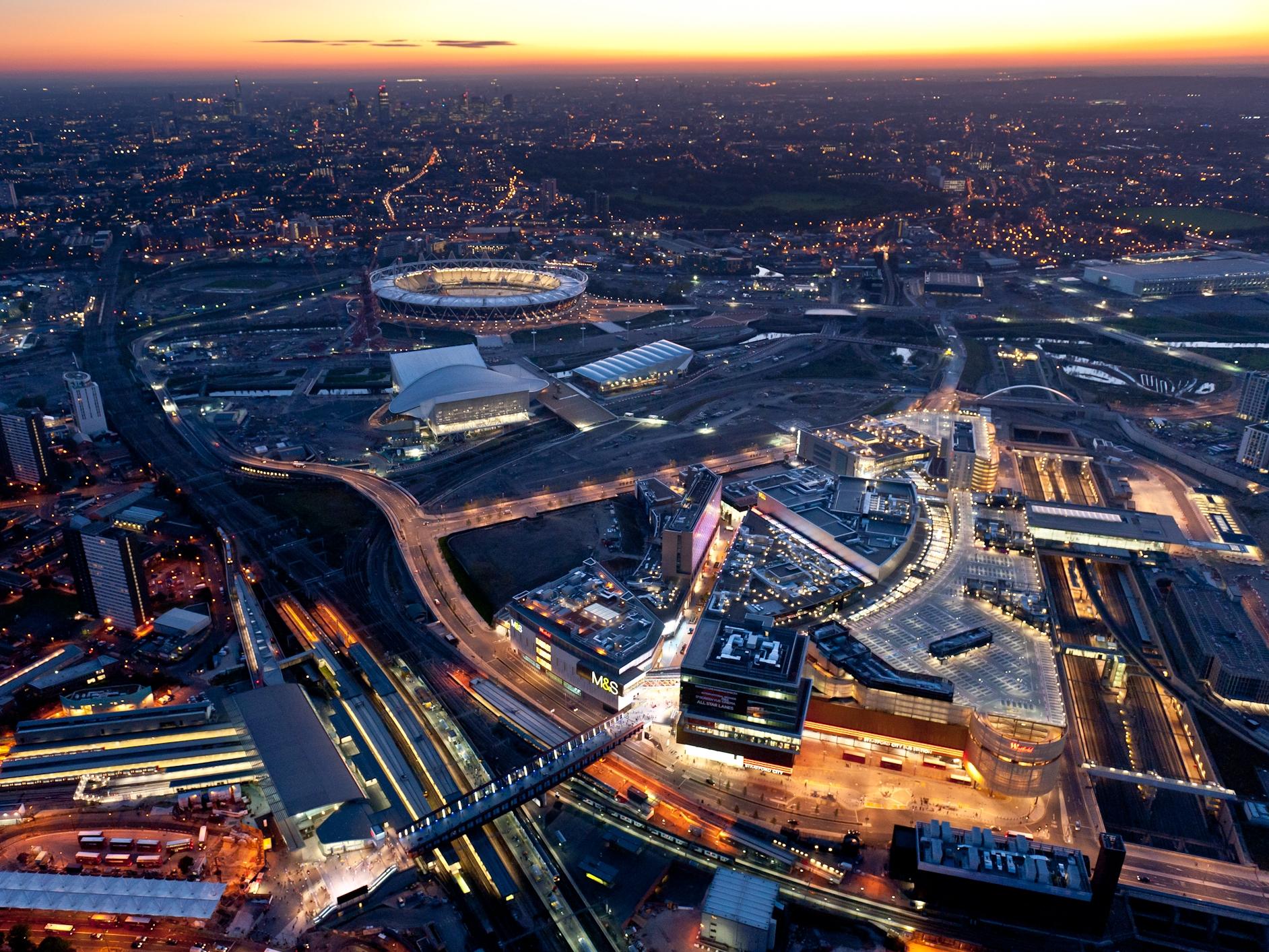 Stratford City, Stratford, London
