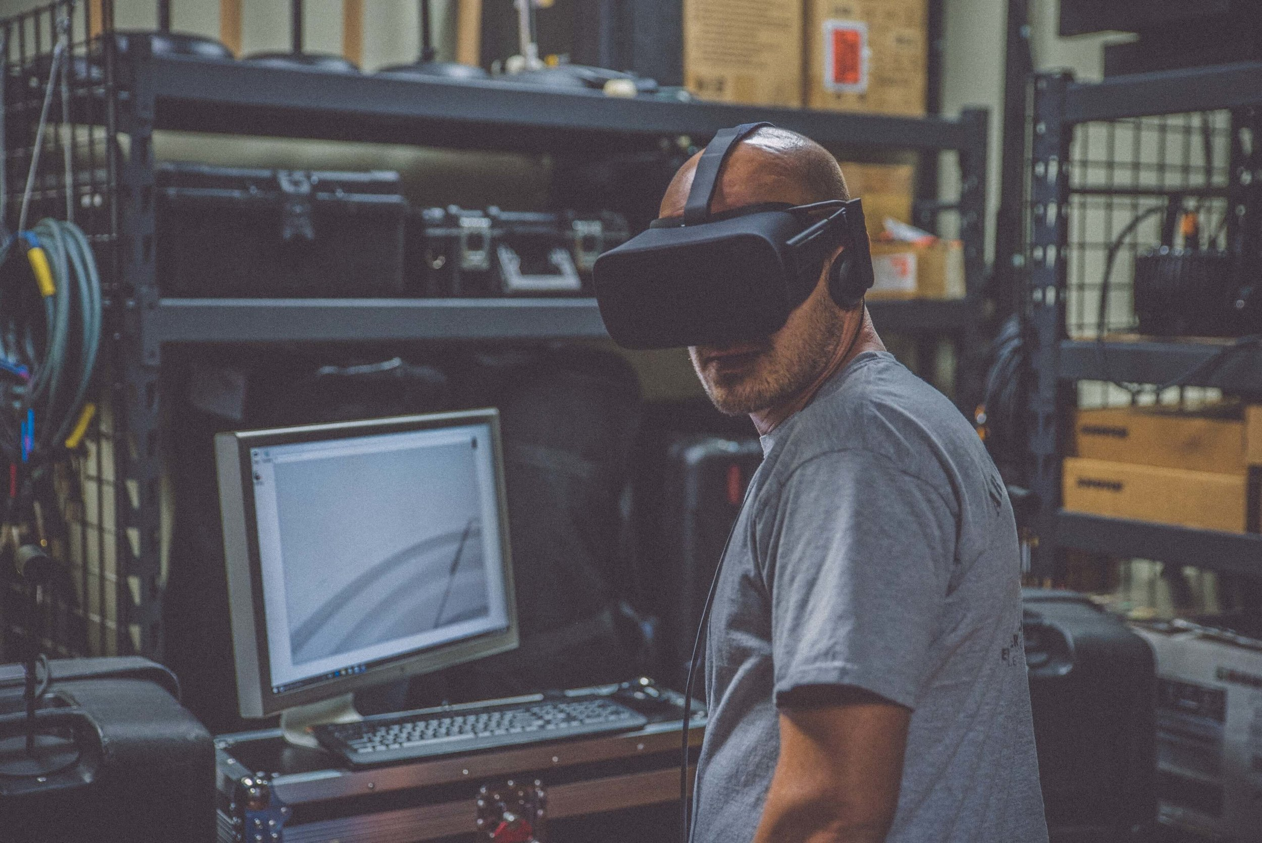 Virtual Reality training and education
