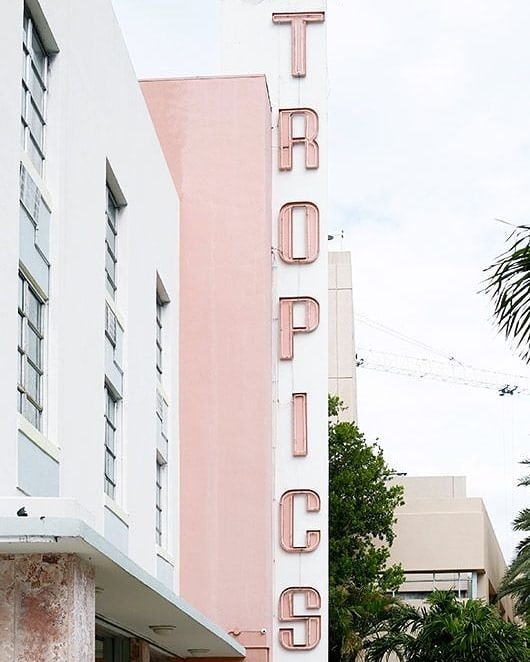 Tropical state of mind 🌴 G o o d  m o r n i n g ☀️👋🏻 📷 @pinterest #tropicalvibes #tropics #miami #goodmorning #pinkshades