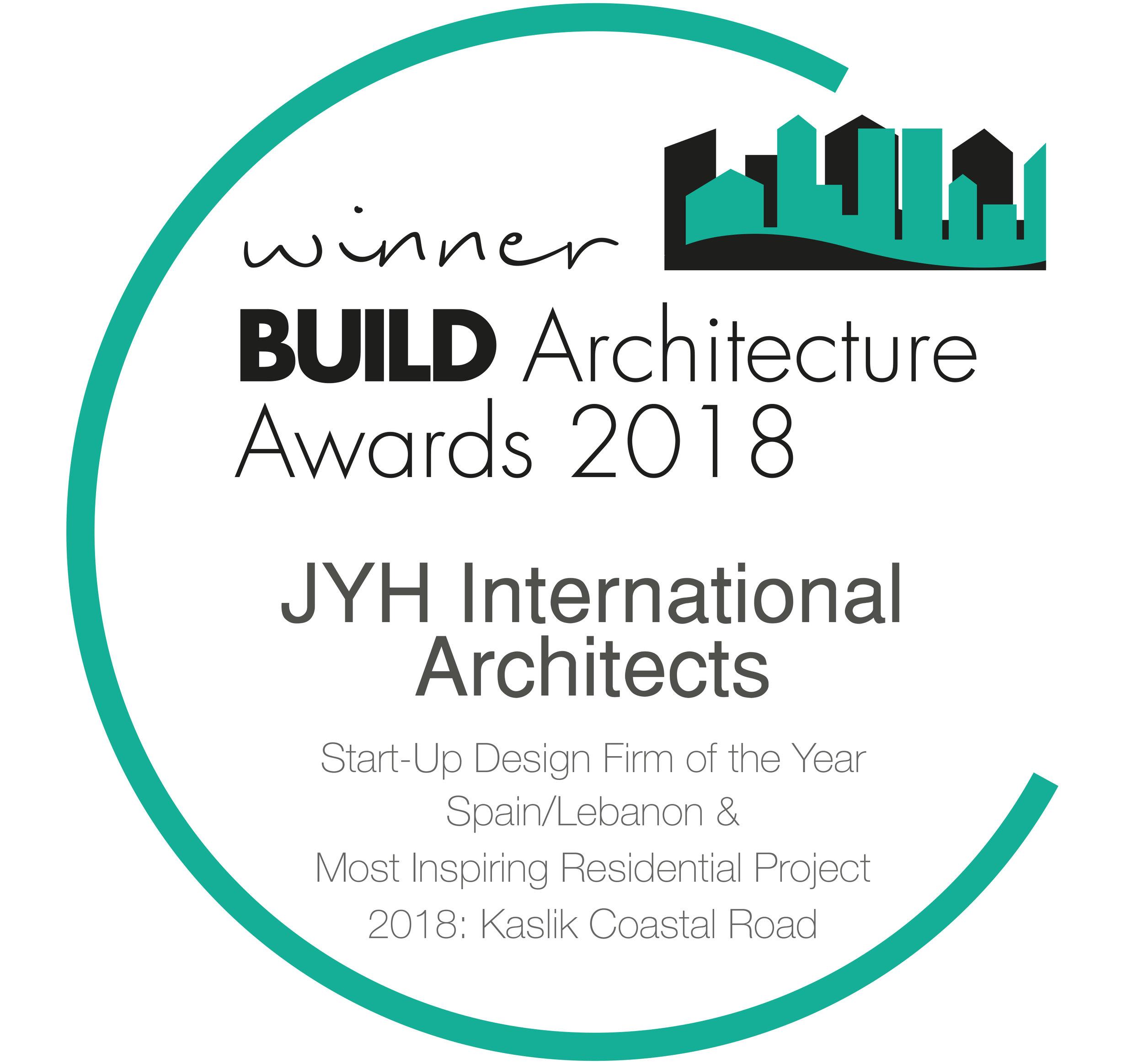 JYH International Architects Build Award