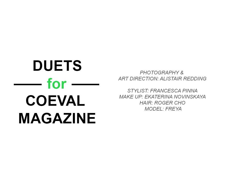 DUETS for Coeval Magazine
