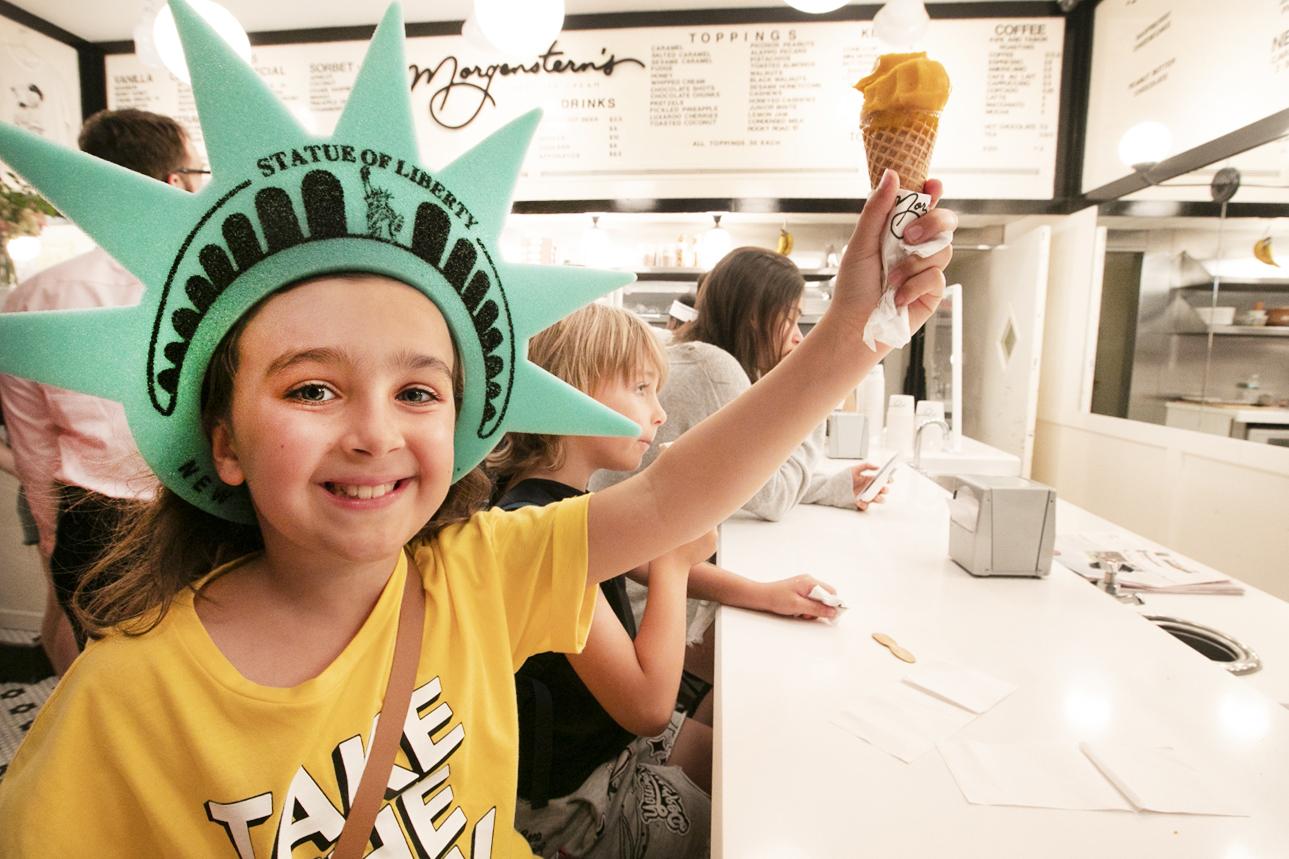 мороженое в Нью-Йорке