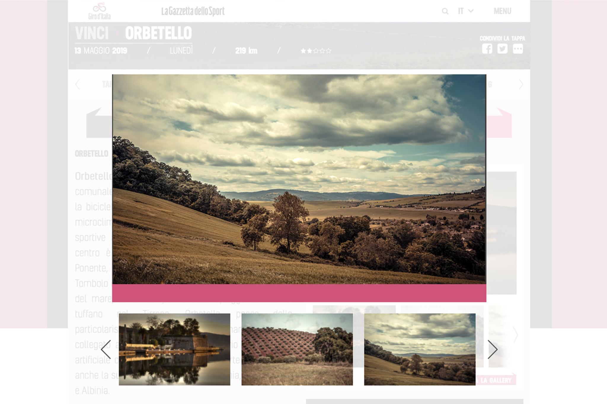 """Alcune mie foto del progetto """"I Nostri Occhi, La Nostra Terra"""" sono state pubblicate sul sito ufficiale del Giro d'Italia 2019 e su La Gazzetta dello Sport   giroditalia.it"""