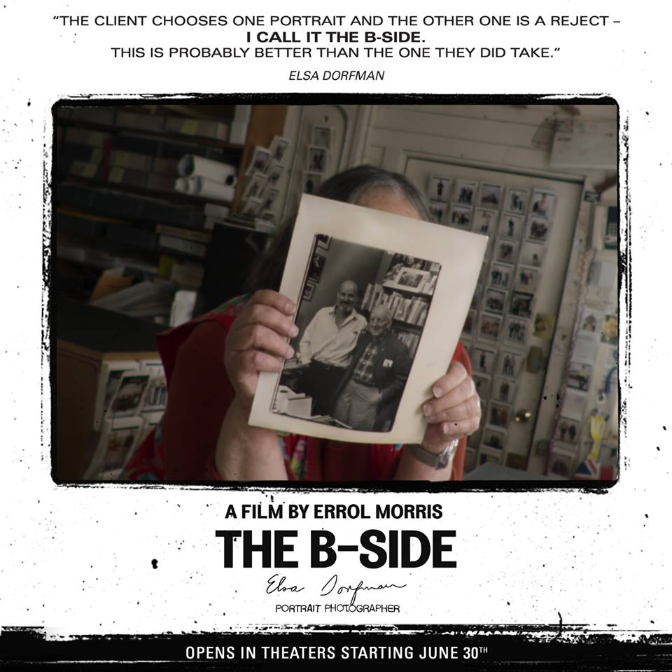 'The B-Side: Elsa Dorfman's Portrait Photography' Un documentario di Errol Morris   http://bsidefilm.com