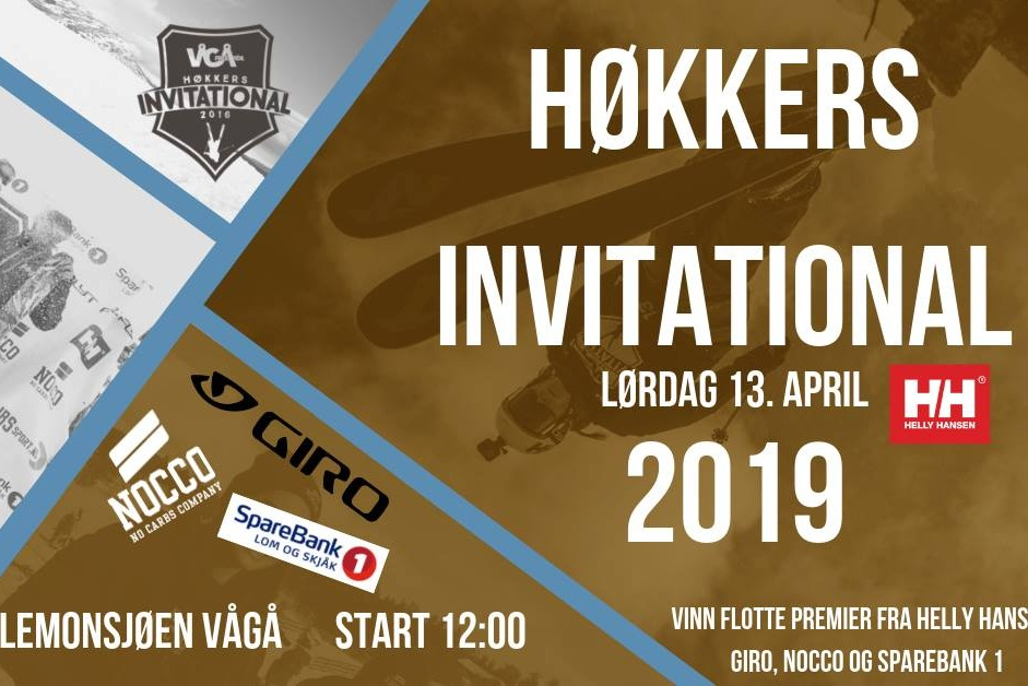 HØKKERS INVITATIONAL - 12. - 14.april 2019Lemonsjø Alpinsenter - Vågå