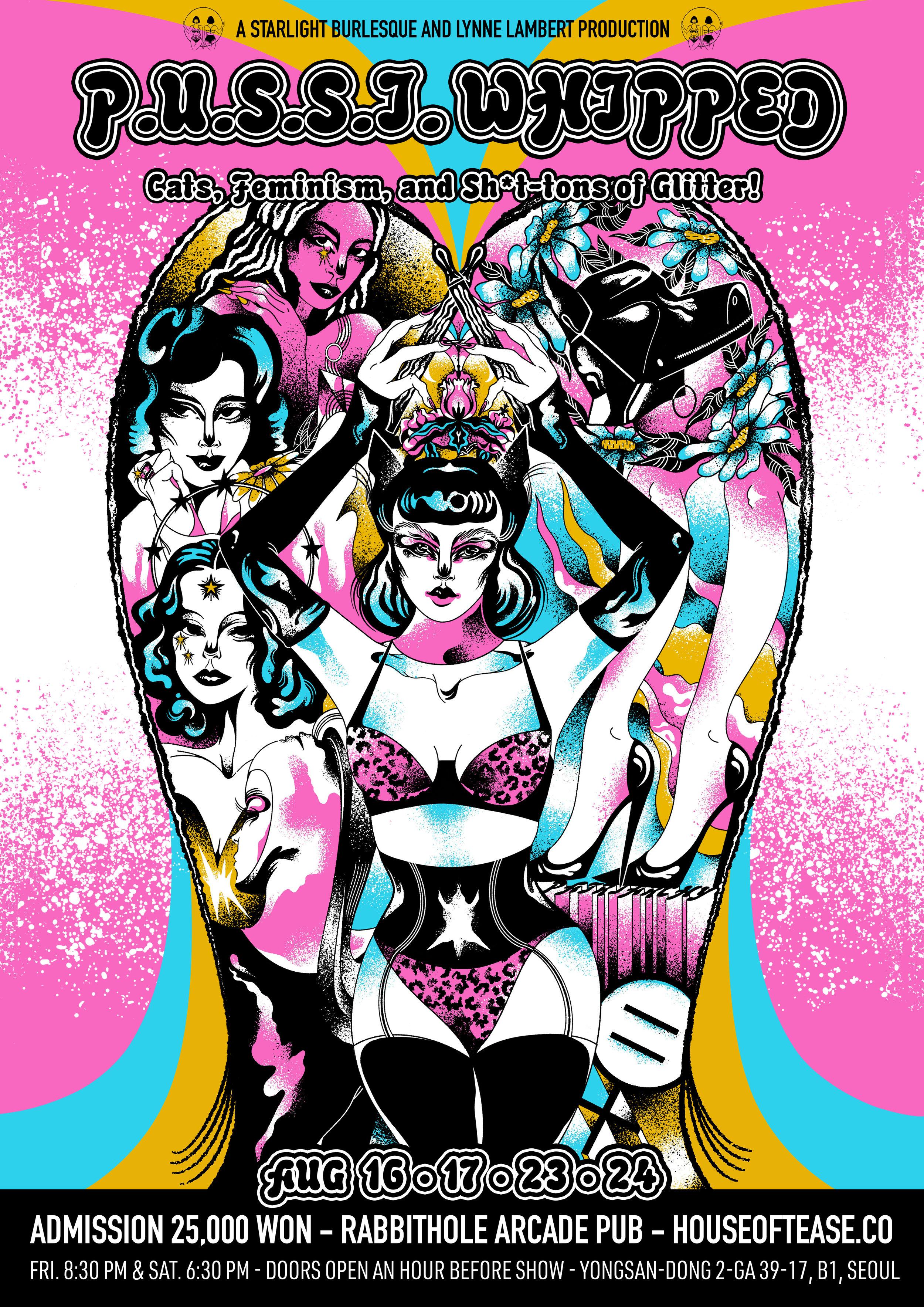 P.U.S.S.I. Whipped - Cat, Feminism, & Sh*t-tons of Glitter!