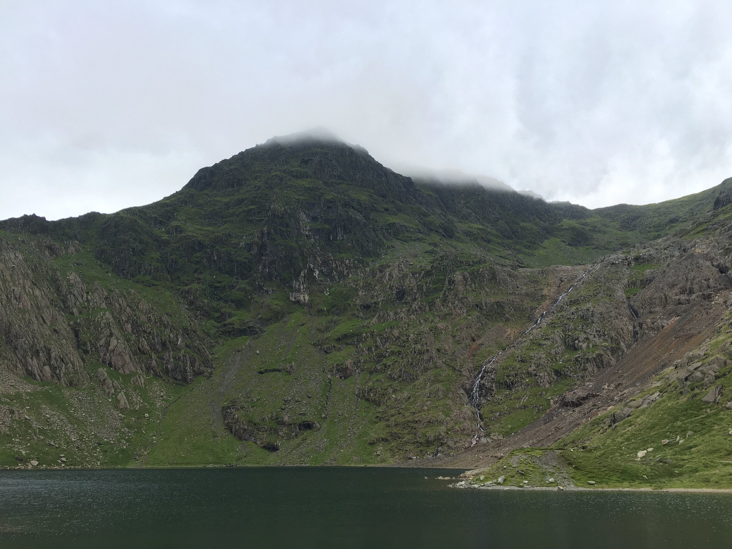 The miners track takes you around the River Glaslyn and its lakes