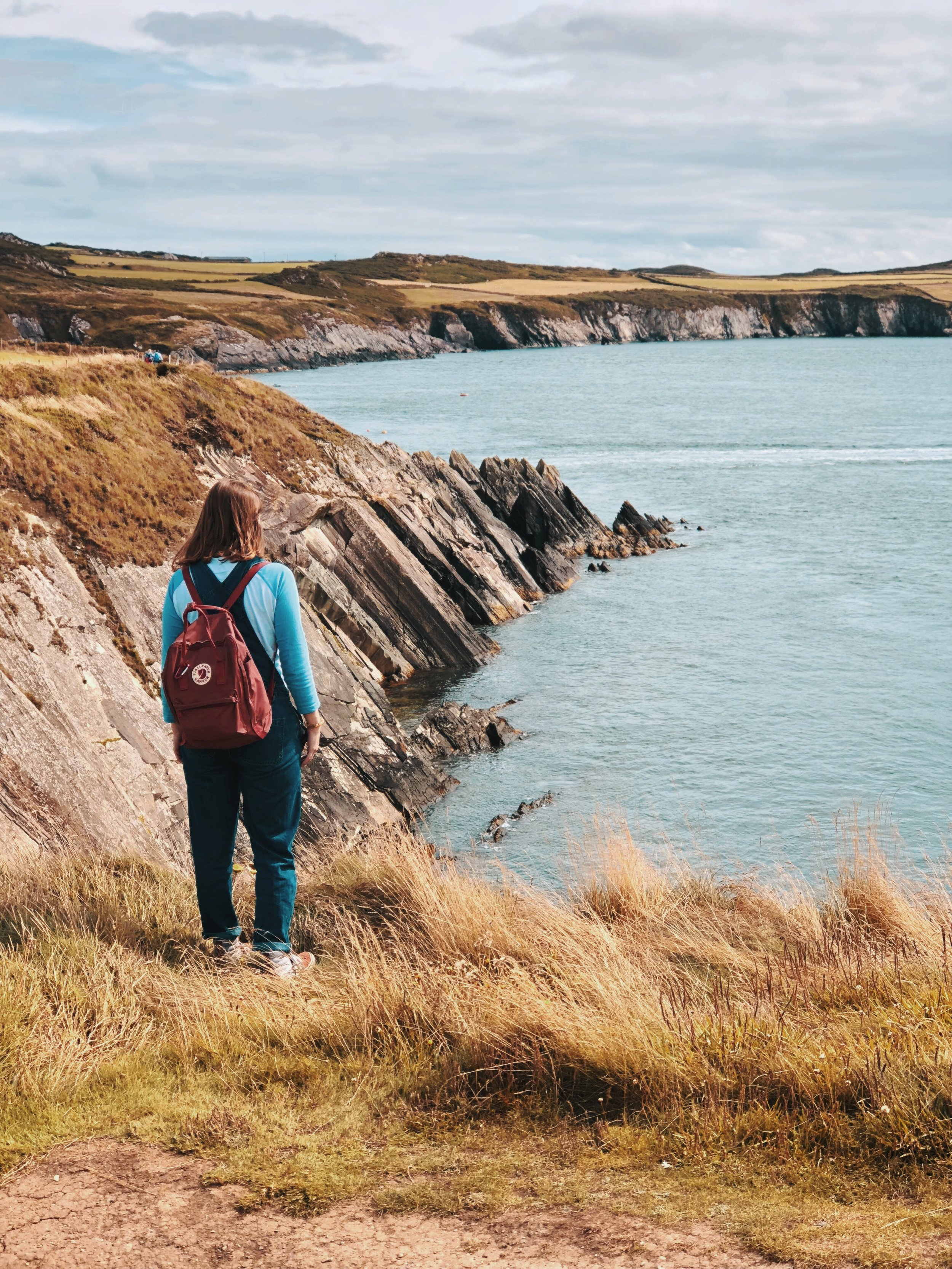 The Welsh coastpath is a great stretch of trails available to everyone.
